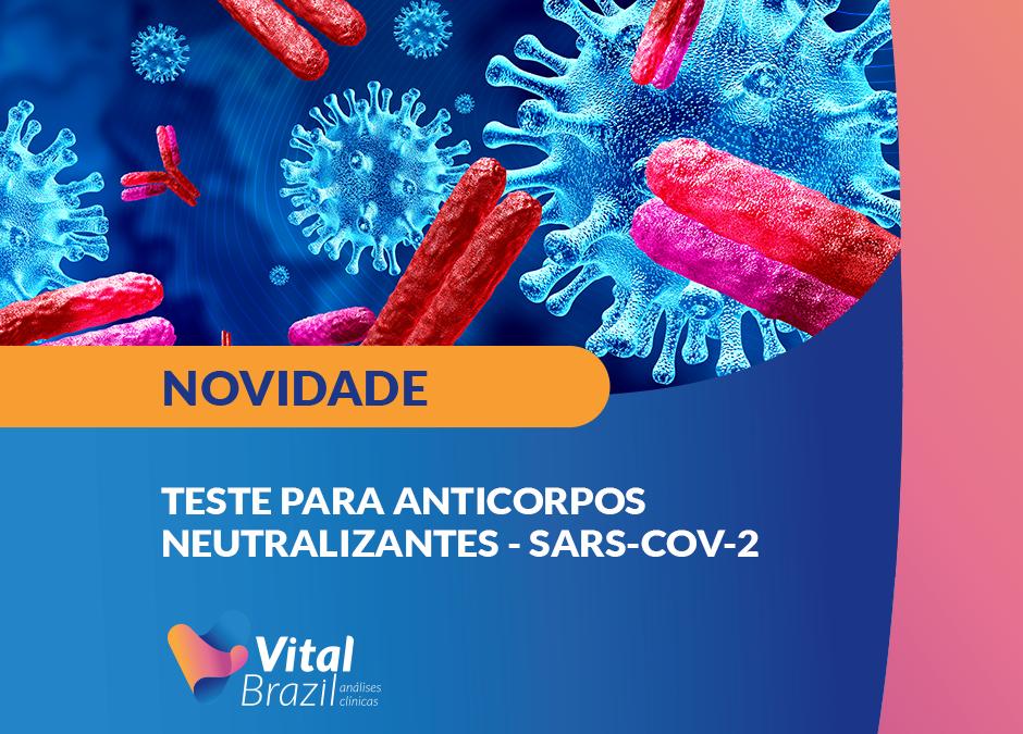 Teste para anticorpos neutralizantes – SARS-CoV-2